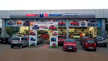 About JaiKrishnaa Auto Sales Raju nagar